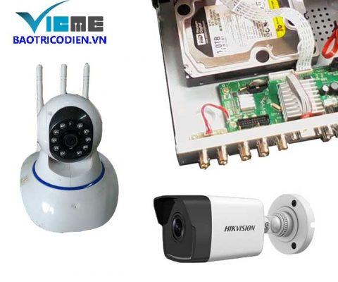 Bảo trì hệ thống camera