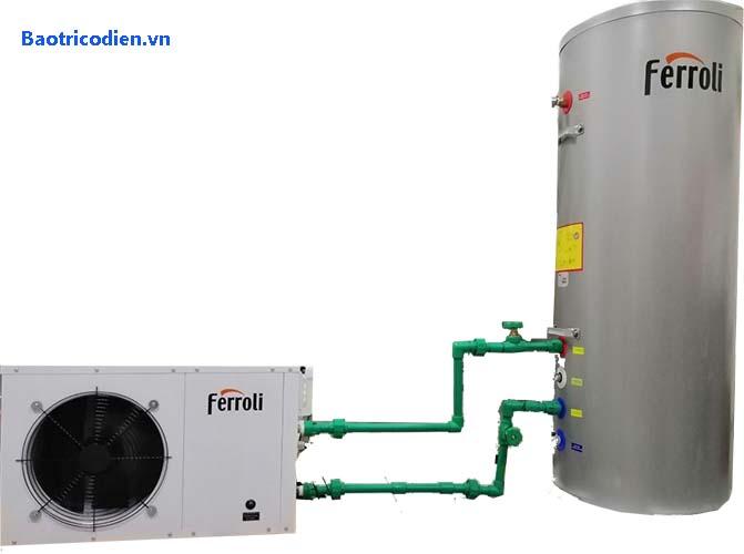 máy nước nóng trung tâm heatpump