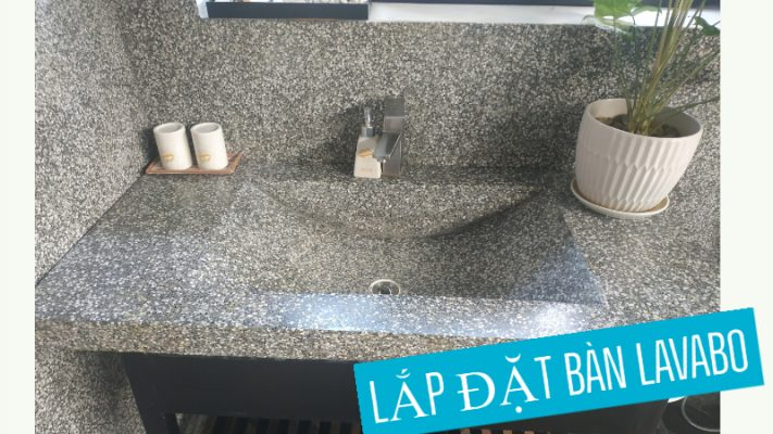 Lắp đặt ống lavabo