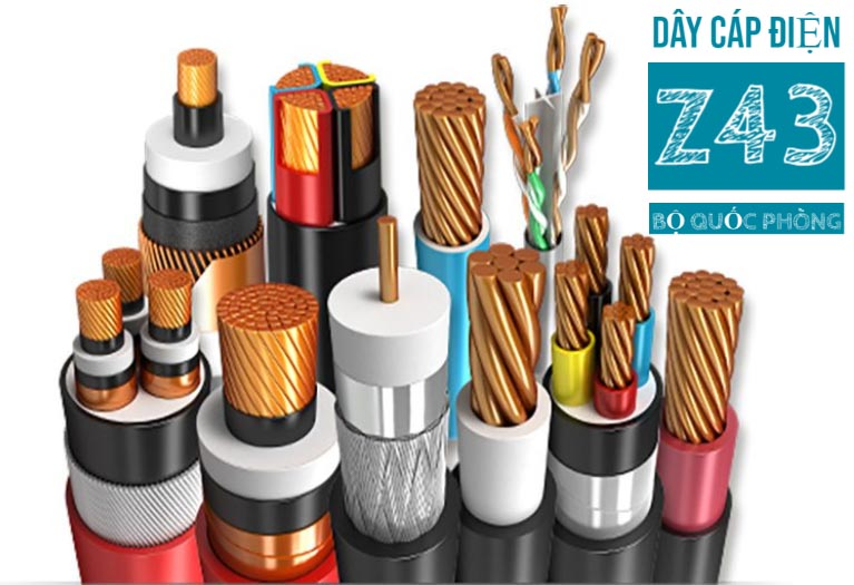 Chọn dây cáp điện Z43 theo dòng điện định mức và độ sụt áp