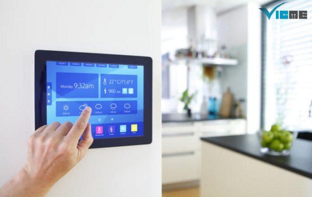 ứng dụng công nghệ nhà thông minh trong thi công điện nước biệt thự