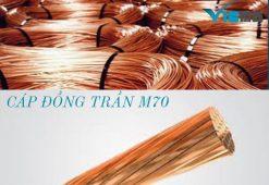 Cáp đồng trần M70