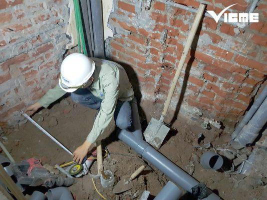 thi công lắp đặt điện nước